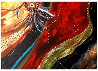 Acrylic by Amber Lynn Nicol ALN